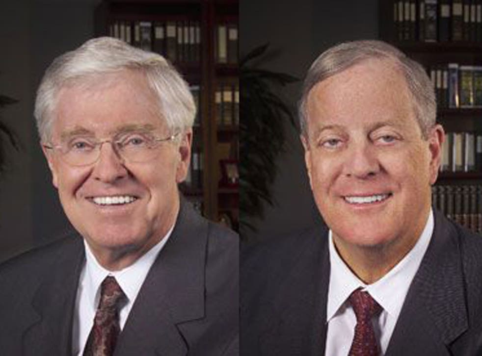Charles and David Koch say they will continue to contribute to conservative political causes