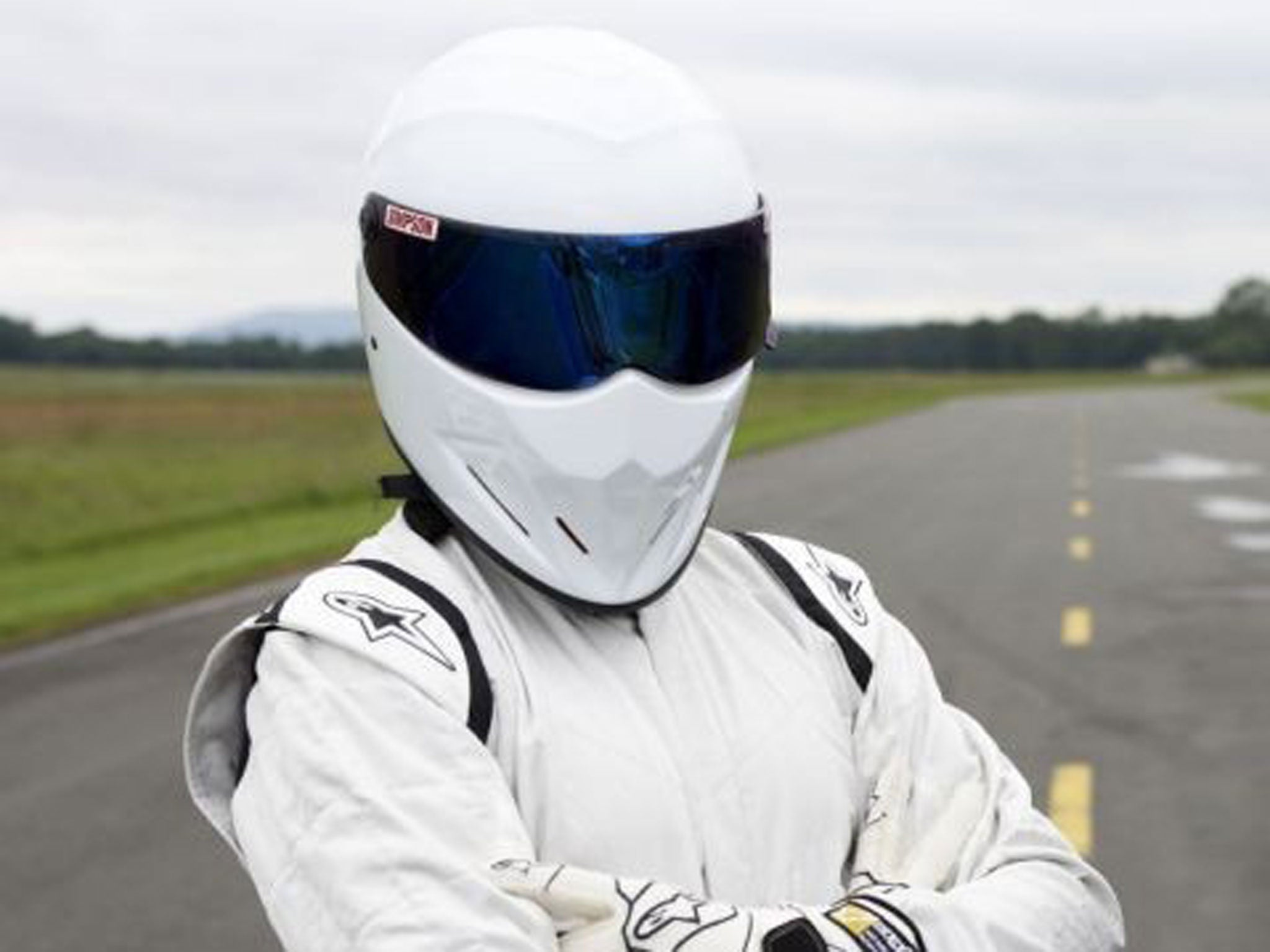 top gear the stig scores new bbc car show job with dermot o 39 leary the independent