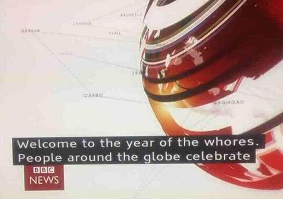 Chinese New Year: BBC subtitle blunder reads \'Welcome to the year of ...
