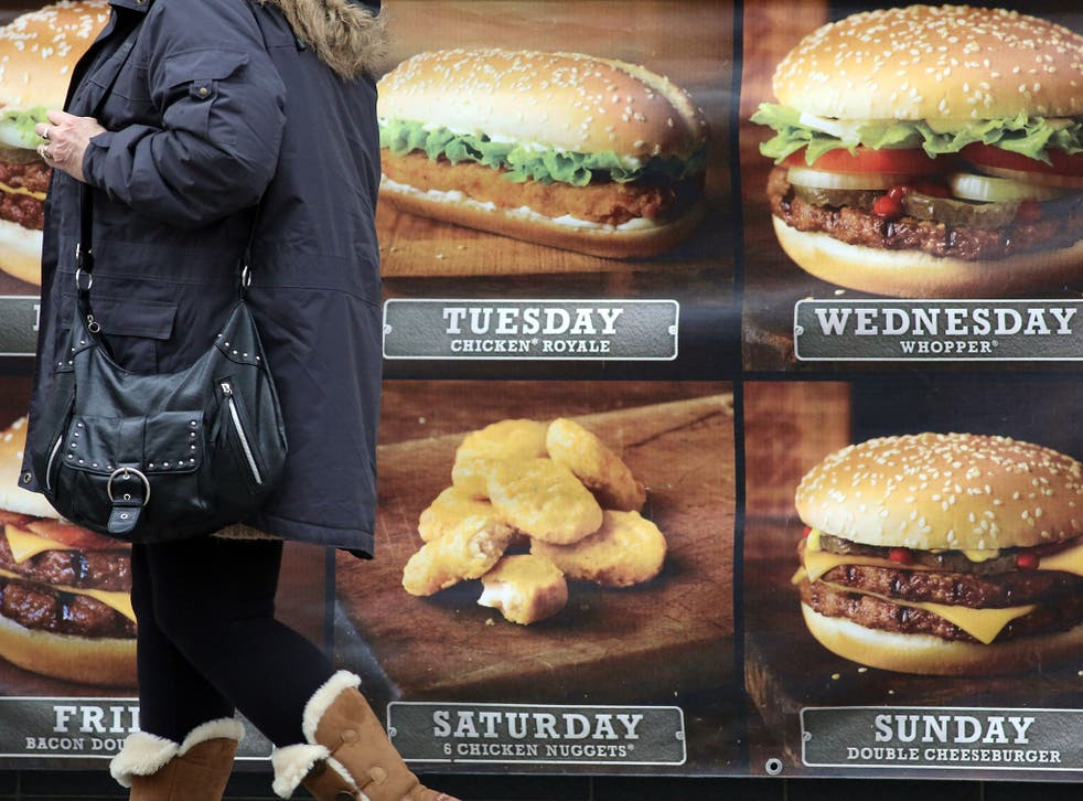 Fast-food companies should be restricted in their advertising activity, say the researchers