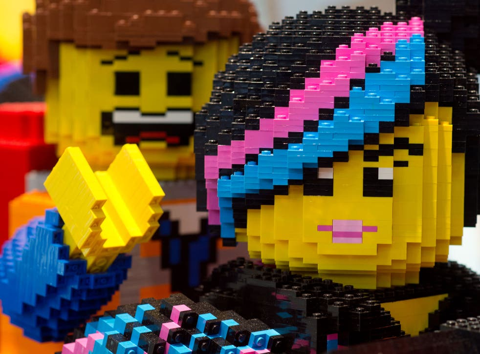 Lego figures are pictured at the Nuremberg International Toy Fair (Nuernberger Spielwarenmesse) on 29 January, 2014 in Nuremberg, Germany.