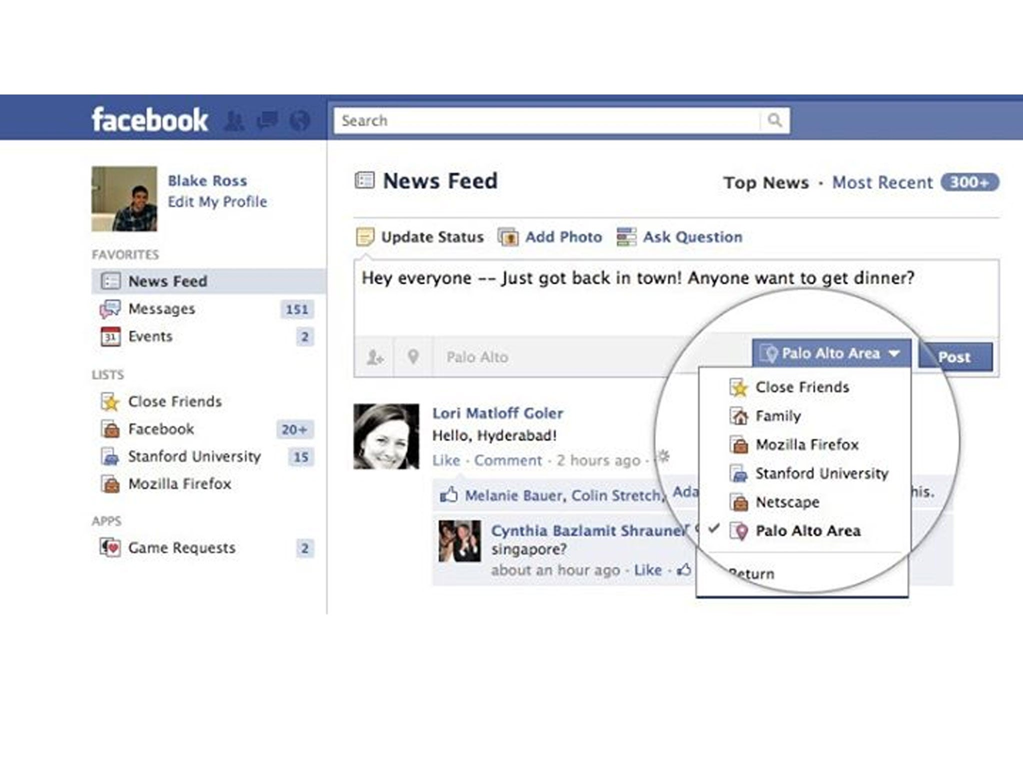 Facebook Chrome extension shows everything that the site knows about