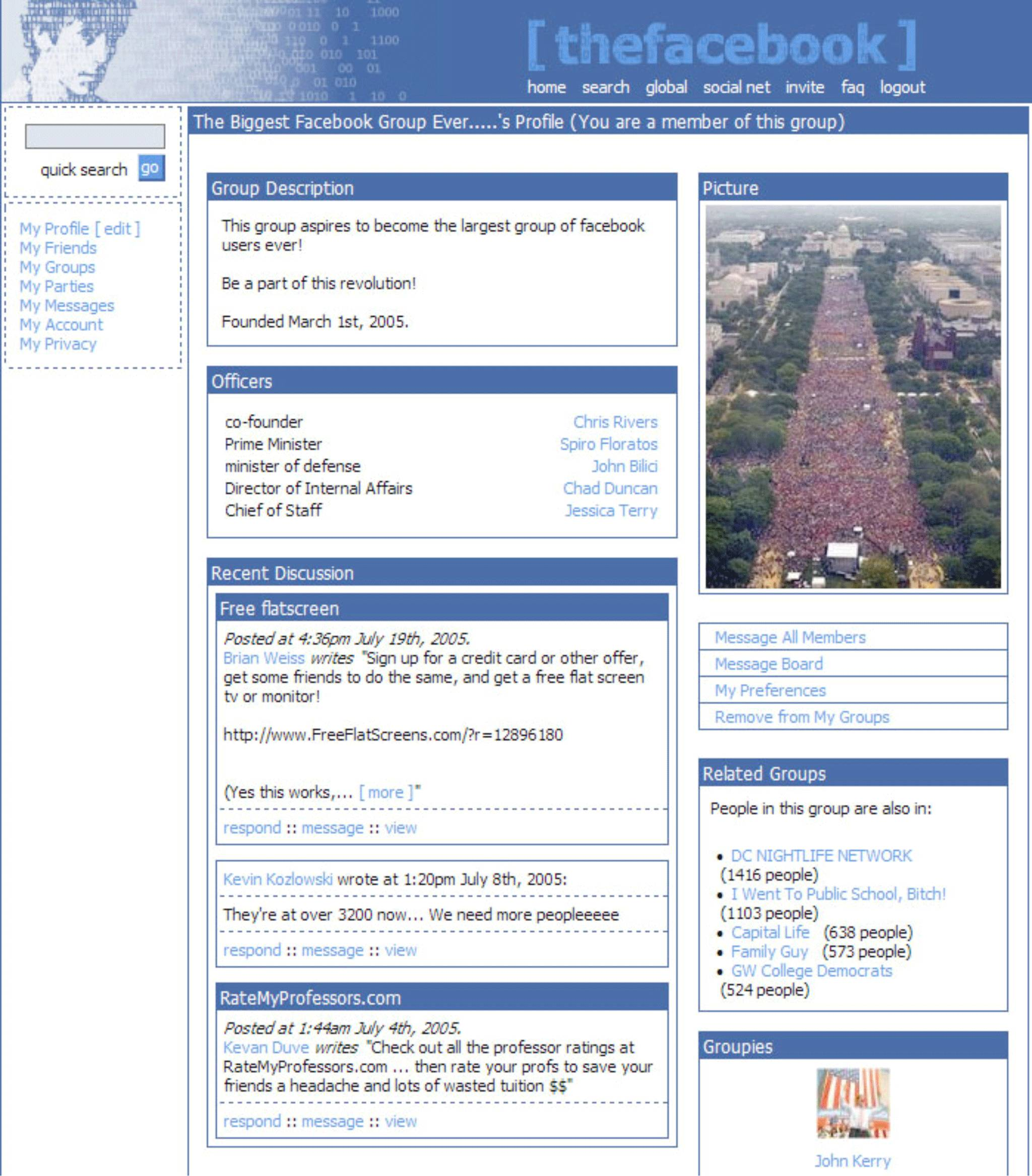 Here's what Facebook looked like 10 years ago | The Independent