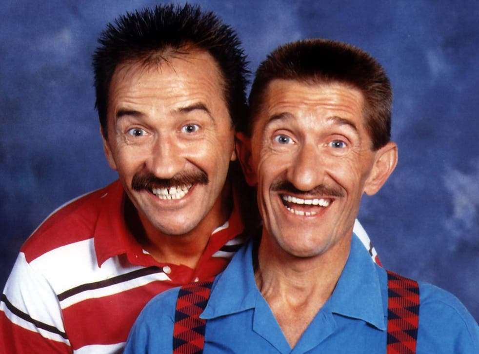 Game for a laugh: the Chuckle brothers