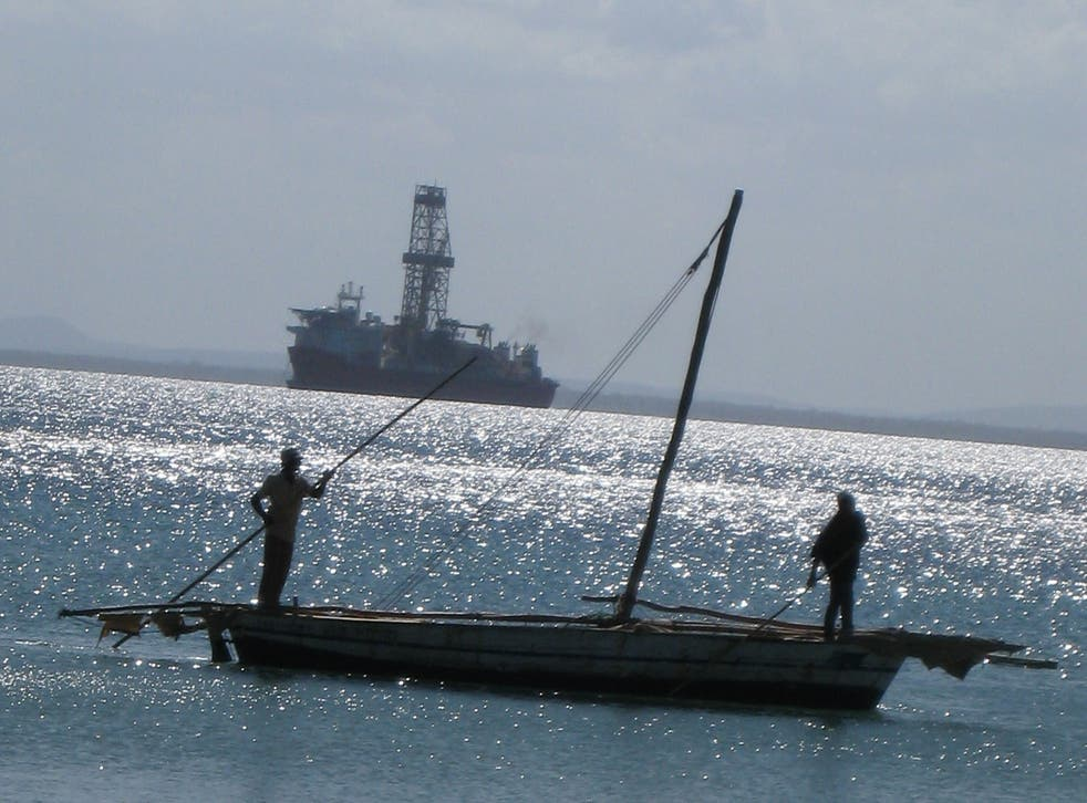 Pemba Bay in Mozambique
