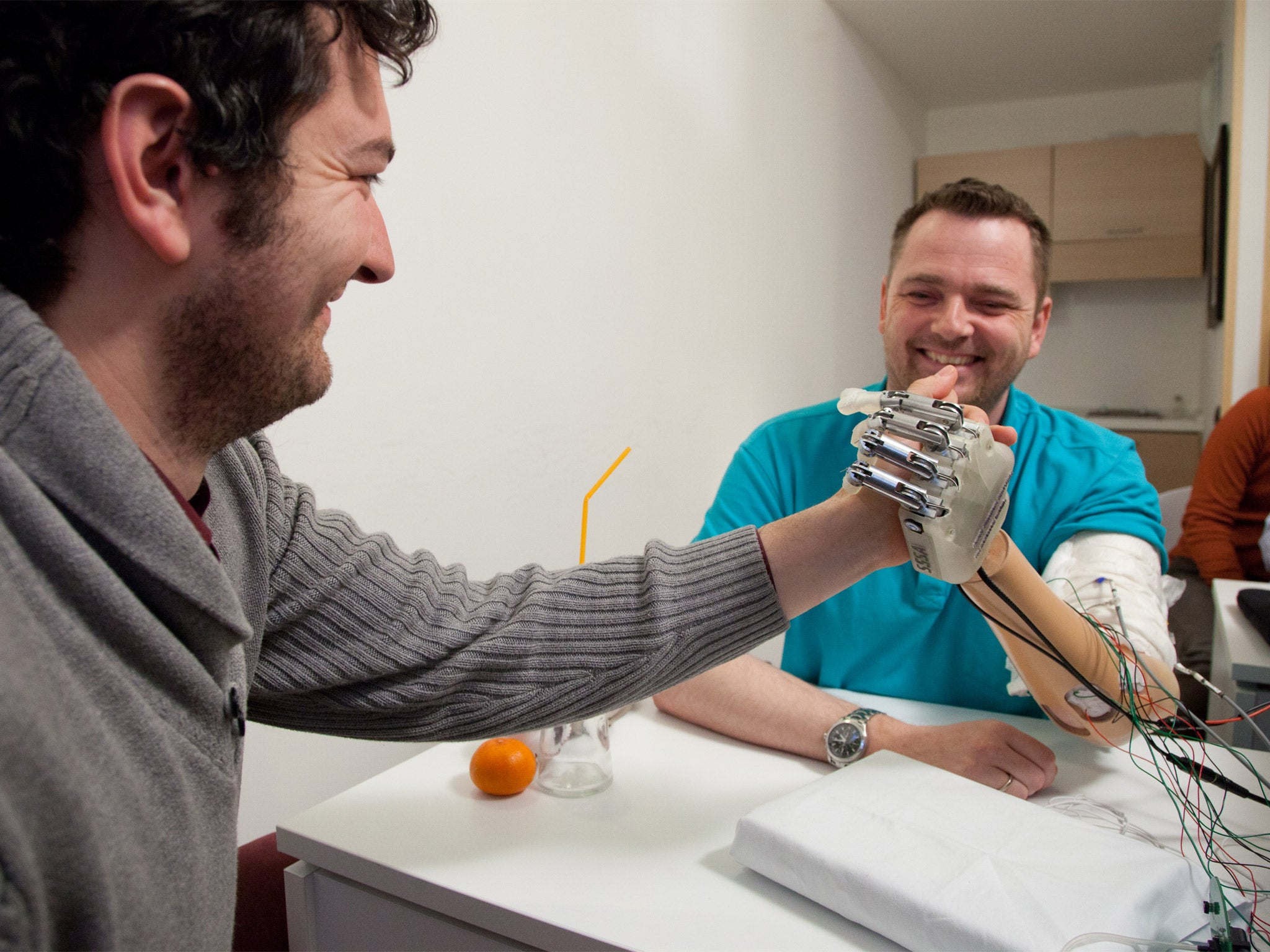 A clever touch introducing the bionic hand that allows amputees a clever touch introducing the bionic hand that allows amputees to feel objects the independent fandeluxe PDF