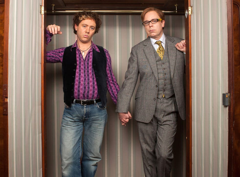 Dark side of the room: Reece Shearsmith and Steve Pemberton in 'Inside Number 9'