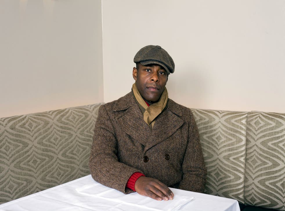 Paterson Joseph, photographed at Villandry in London