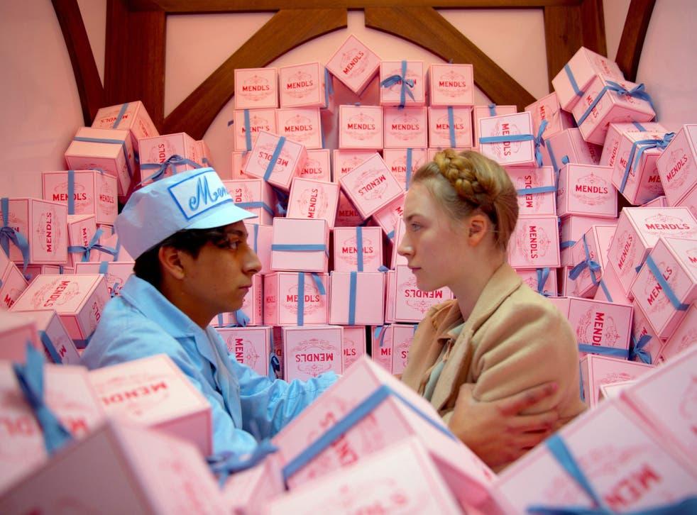 Hungary for more: Tony Revolori and Saoirse Ronan in 'The Grand Budapest Hotel'