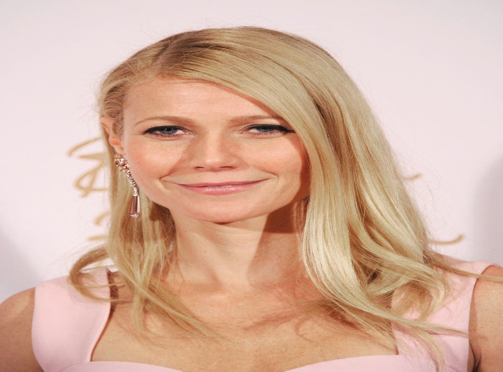 Gwyneth Paltrow poses in the winners room at the British Fashion Awards 2013 in London. She is among the celebrities and activists to sign a letter to President Obama against dolphin hunts in Japan.