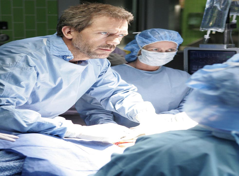 Hugh Laurie stars in the medical drama, 'House MD'