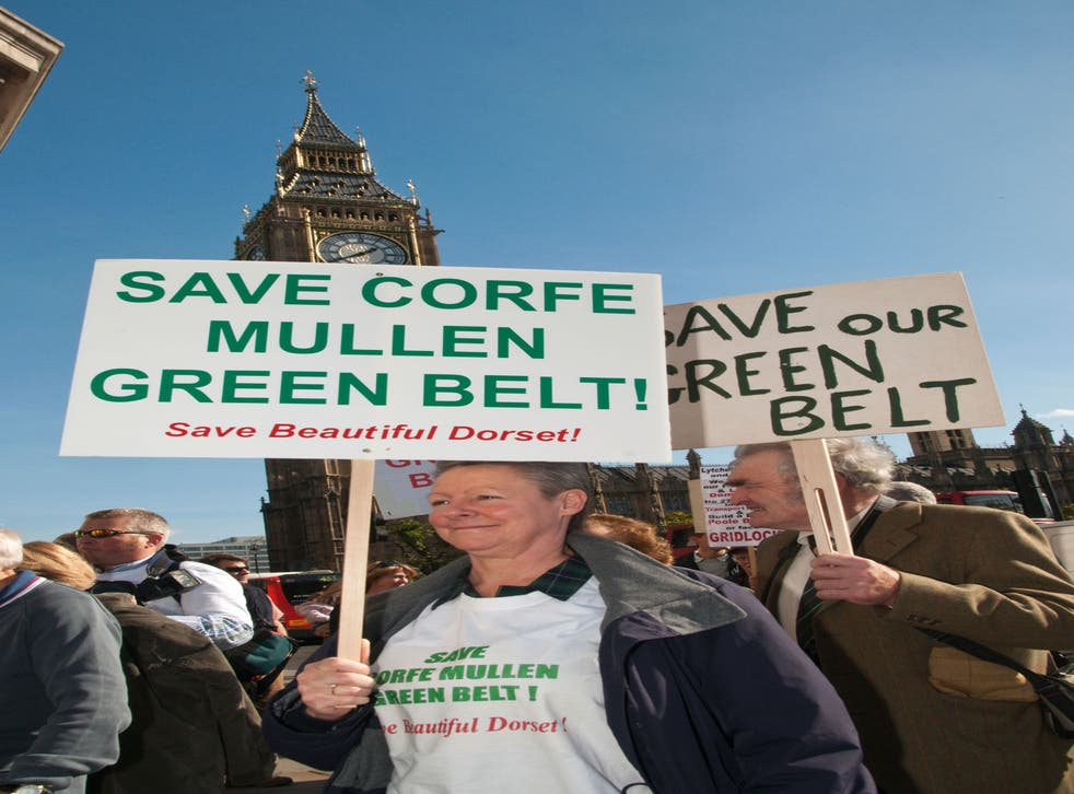 Rural campaigners and lobbying groups obstruct the construction of new housing on Britain's 'green belt'