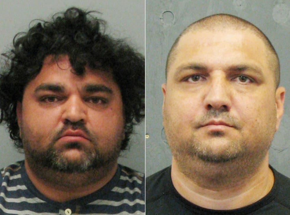 Brothers Igor Marcin (left) and Marek Marcin were sentenced at Derby Crown Court