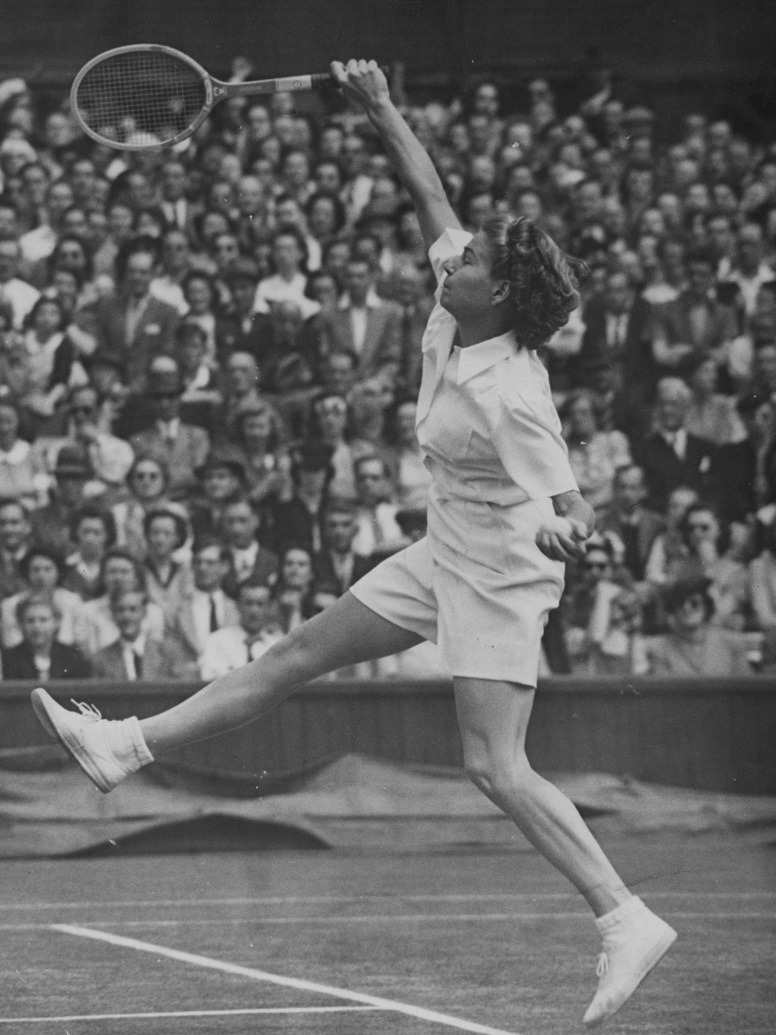 Louise Brough Tennis player and doubles expert who won 35 Grand