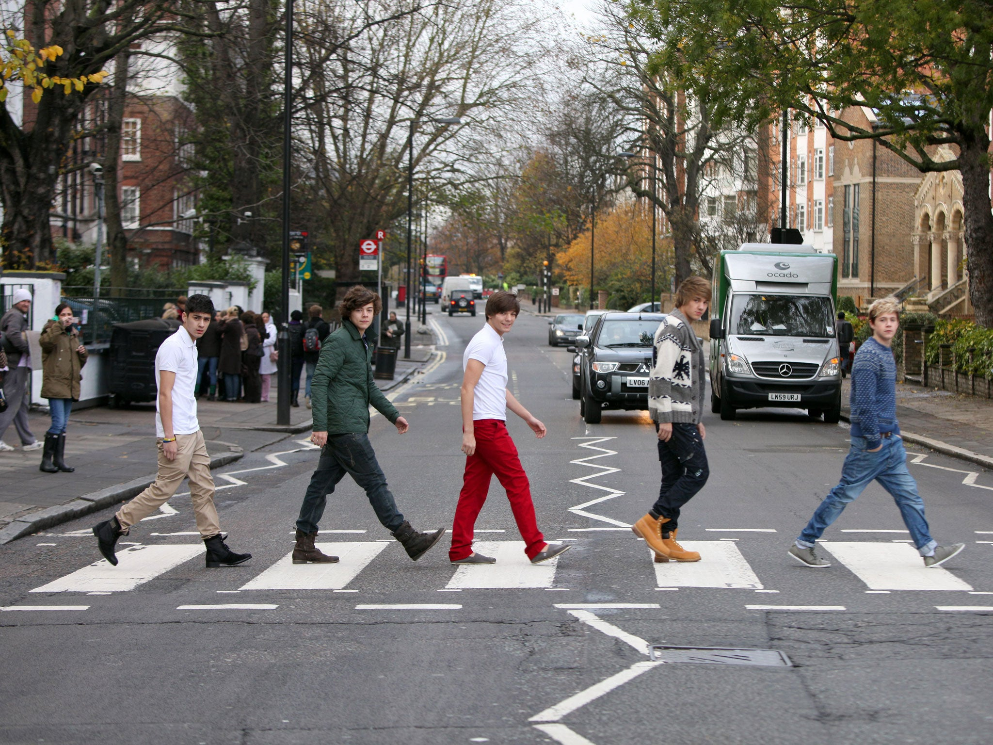 One Direction Album Cover Beatles Harry Styles claims On...