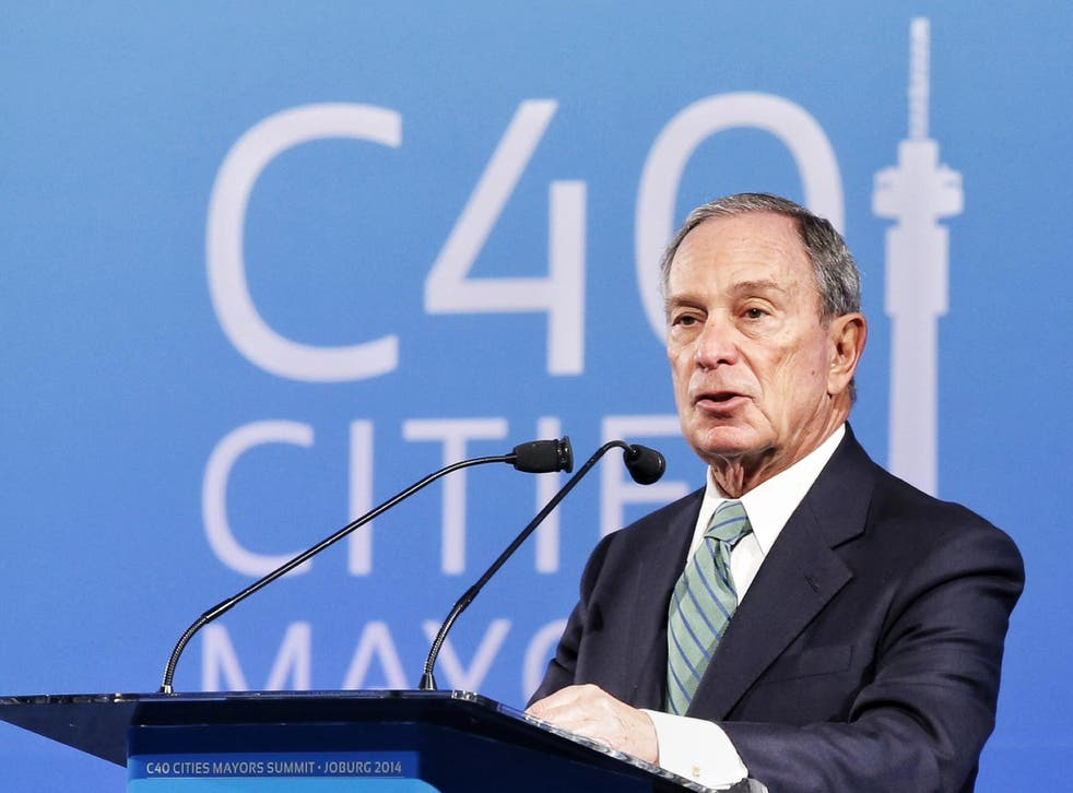 Michael Bloomberg, founder and owner of the data provider and organisation