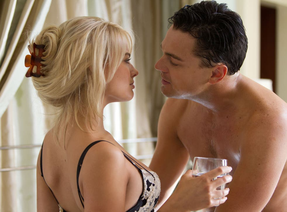 Margot Robbie played the seductive wife alongside Leonardo DiCaprio in The Wolf of Wall Street