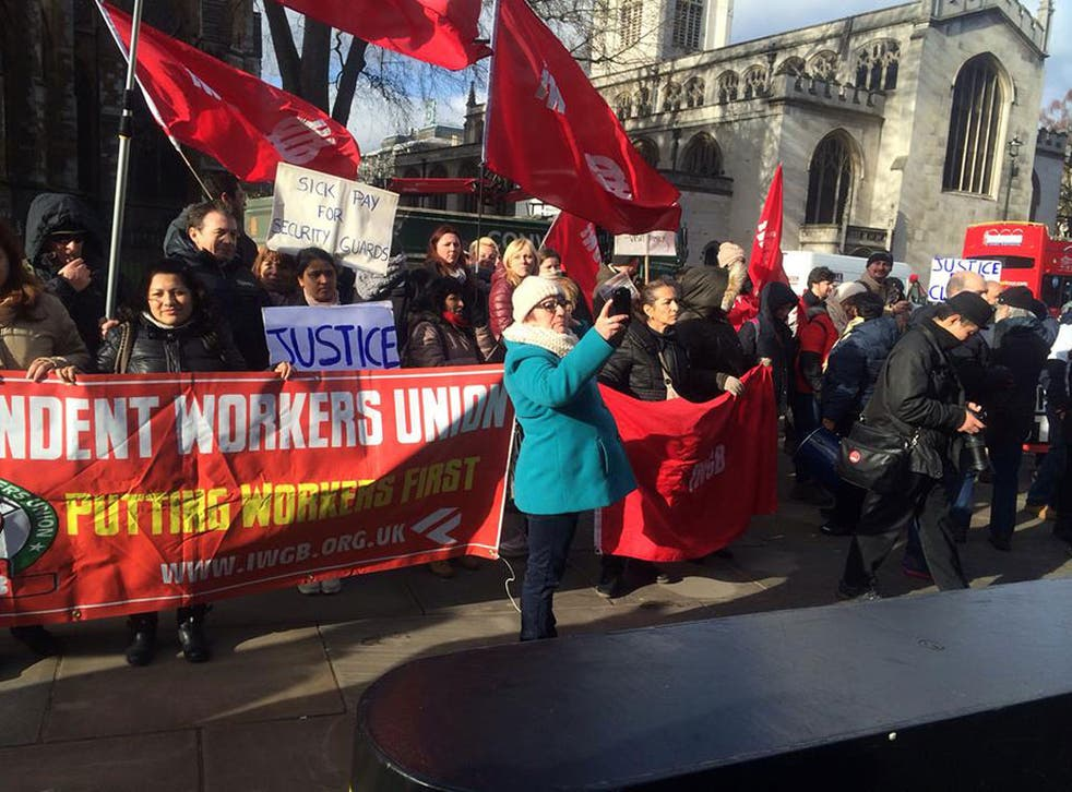 The Independent Workers Union of Great Britain will argue that these workers should have the right to collectively bargain their pay and conditions directly with the university
