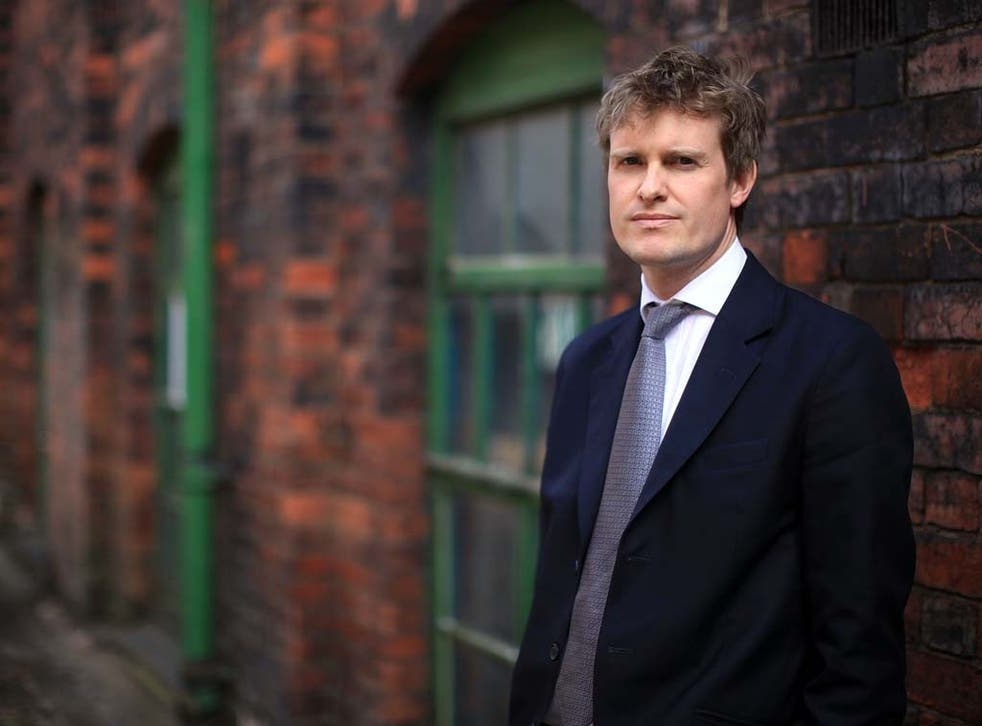 Tristram Hunt parliamentary candidate for the Labour party poses for pictures as he canvasses in Stoke On Trent on April 15, 2010 in Stoke-on-Trent, Staffordshire.
