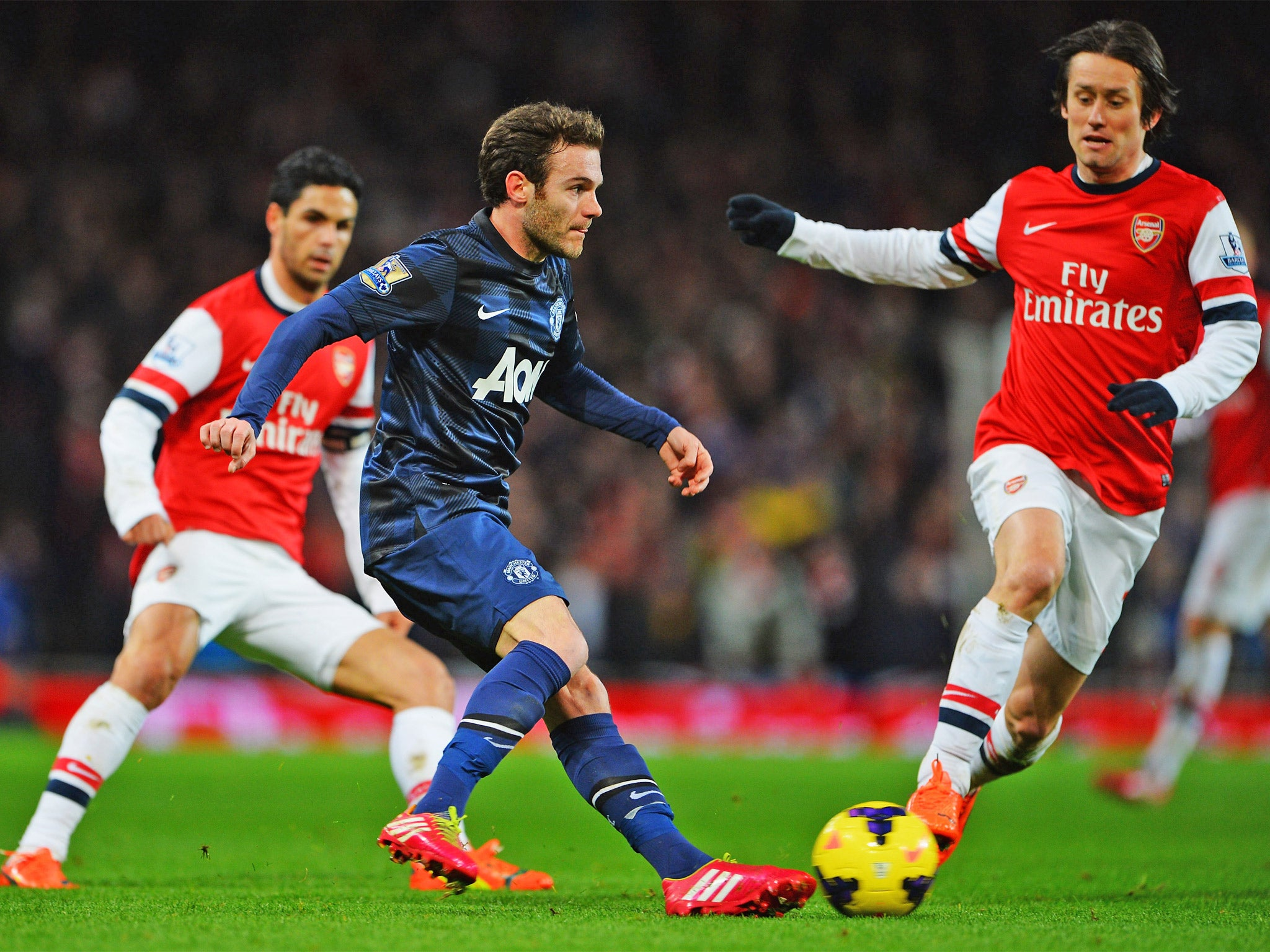 Ment Arsenal 0 Manchester United 0 Mesut Ozil And Juan