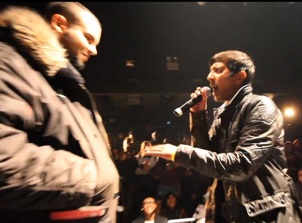 DJ Nihal lambasts an MC for rapping out raping his female opponent