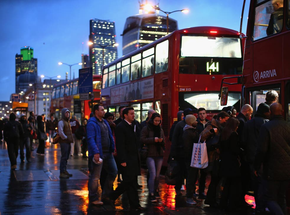 Daily grind: for most of us, commuting is a source of anxiety