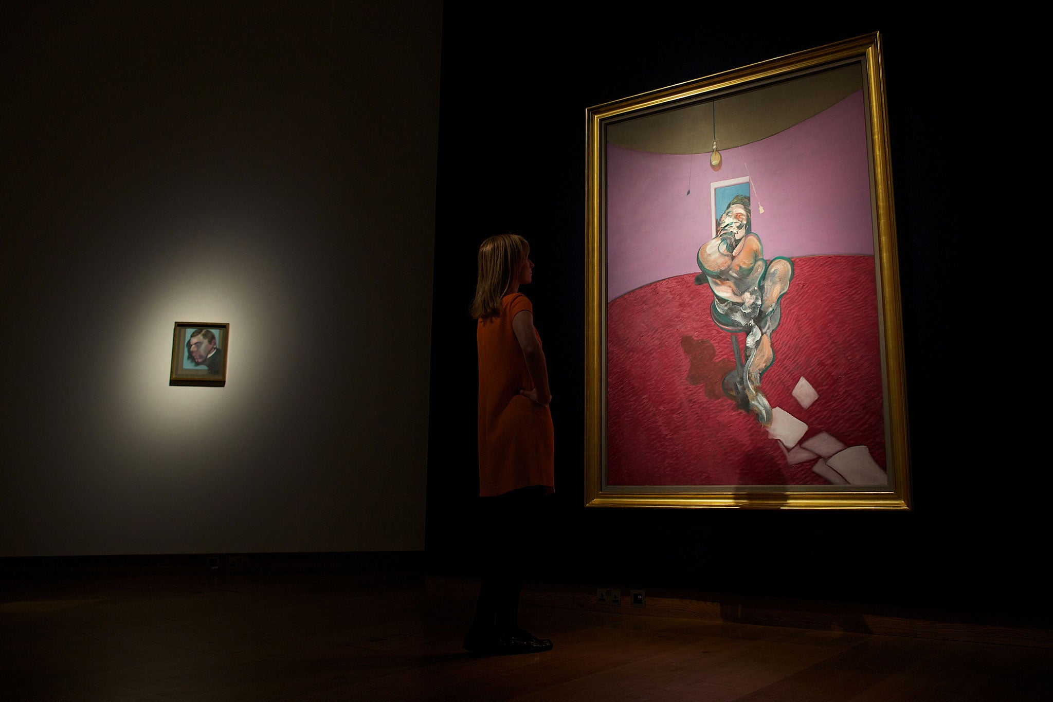 Francis Bacon 'George Dyer Talking' portrait sells for £42