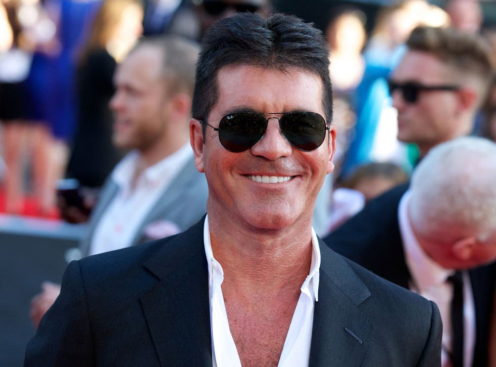 British music and television producer Simon Cowell