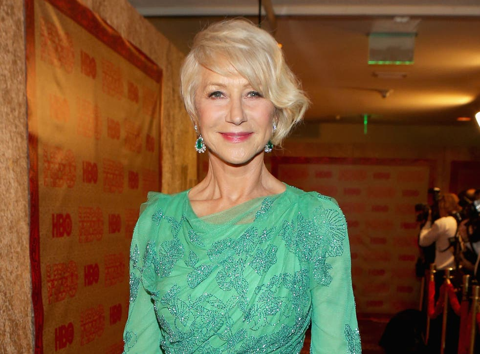 Helen Mirren enjoys the odd spanking session every now and then, apparently