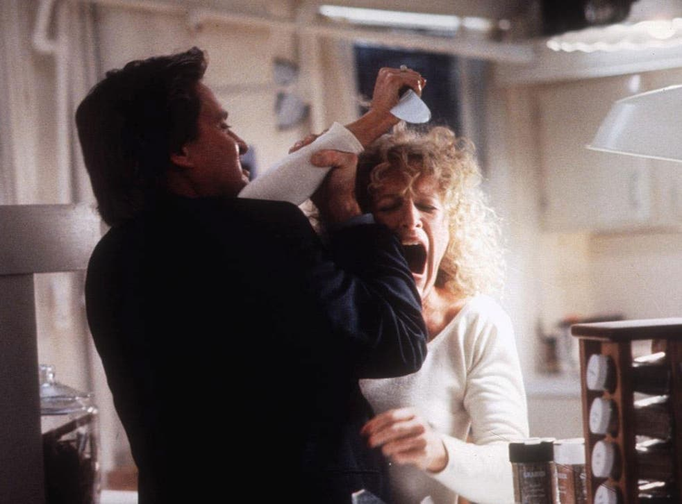 All the rage: Glenn Close in 'Fatal Attraction'