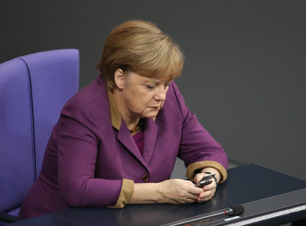 Last year it emerged that Angela Merkel's phone was bugged by the US