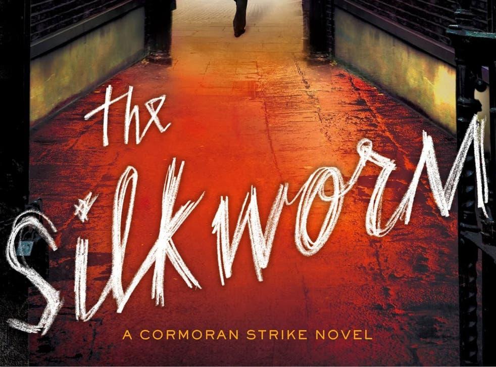 The sleeve of JK Rowling's next crime novel The Silkworm, published under her pseudonym Robert Galbraith