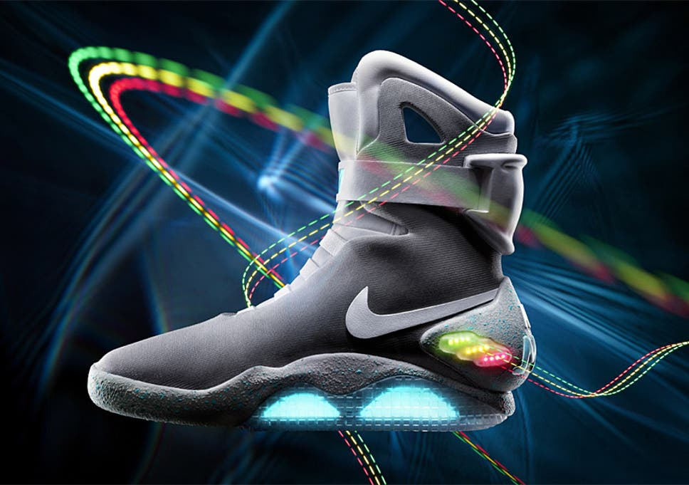ad100ebba7dd Nike Back to the Future style self-lacing shoes  will arrive in 2015 ...