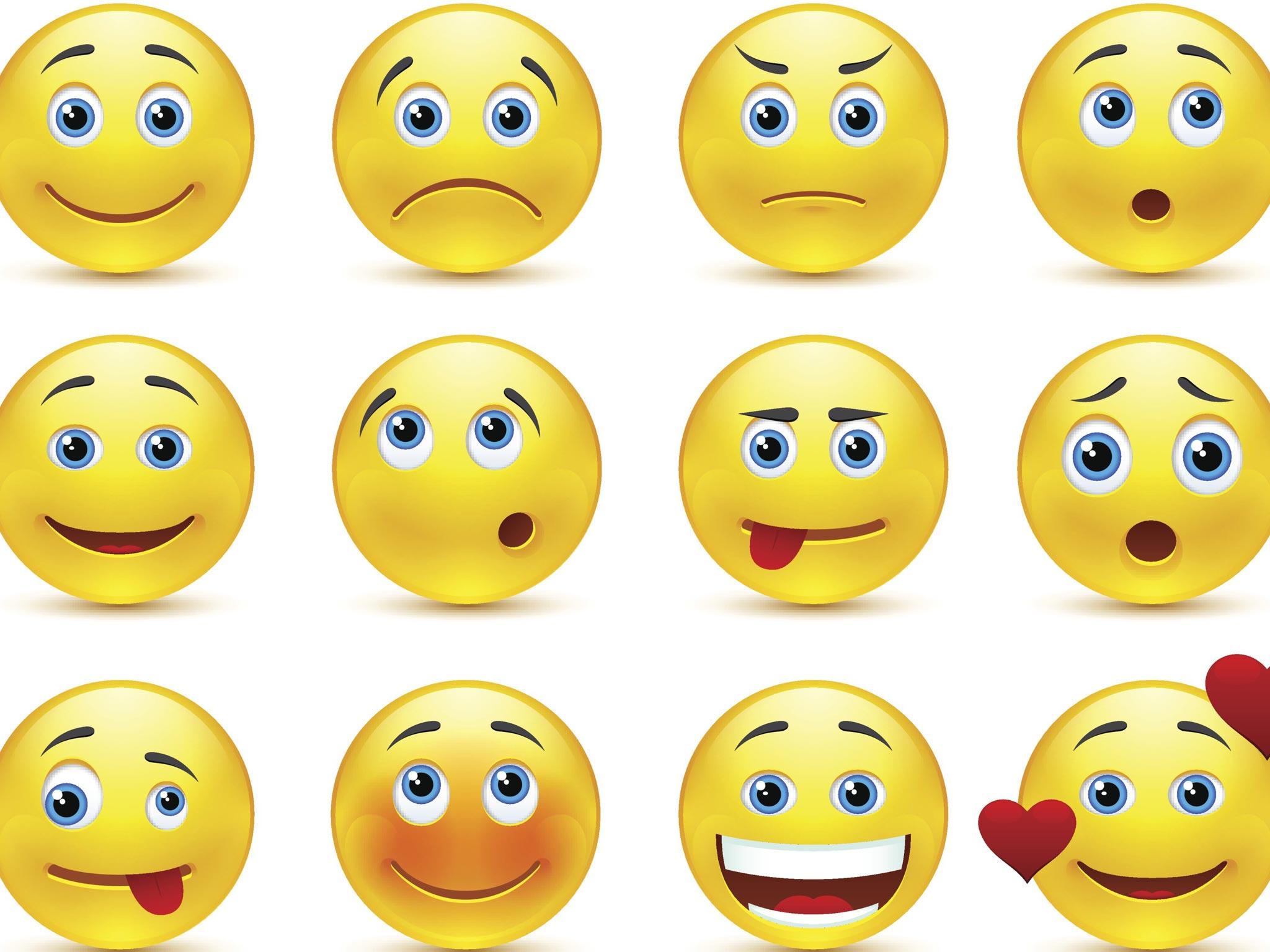 Картинки смайлы с эмоциями