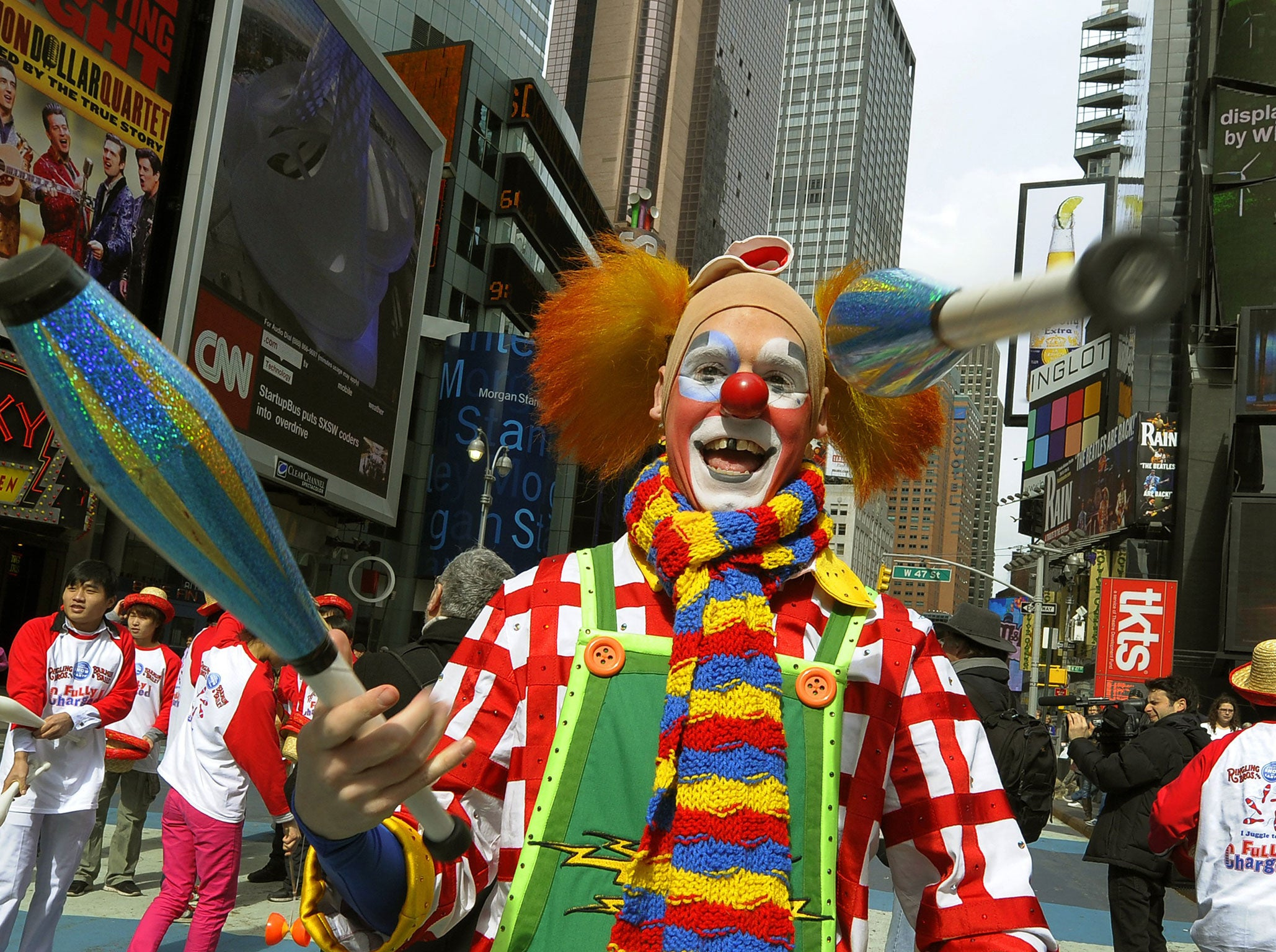 Death Of A Clown Why America S Red Nosed Ones Are Disappearing The Independent The Independent