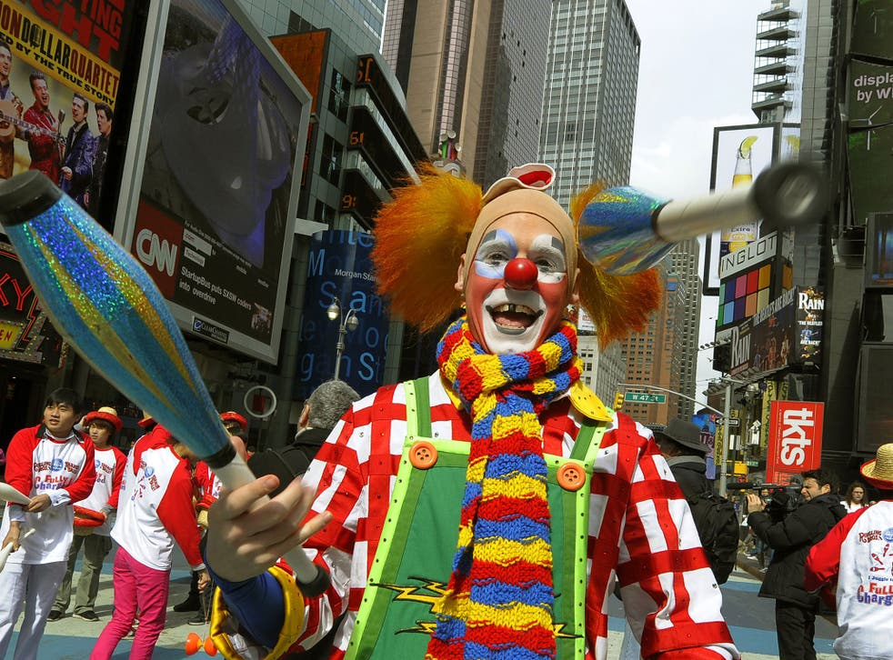 Is the end in sight for clowns?
