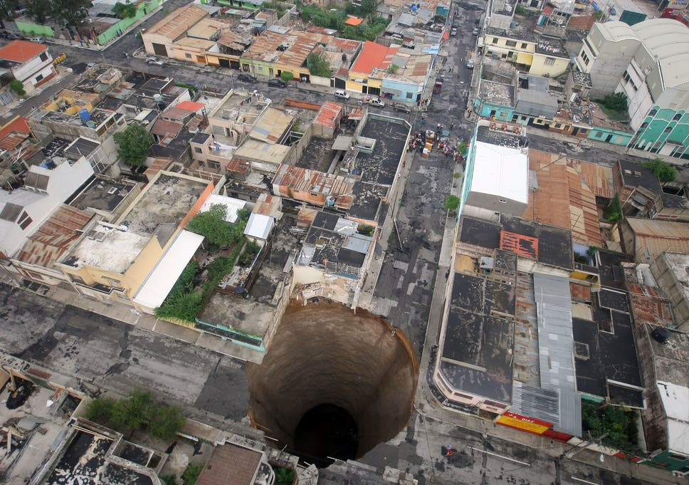 what are sinkholes, how do they form and why are we seeing so many