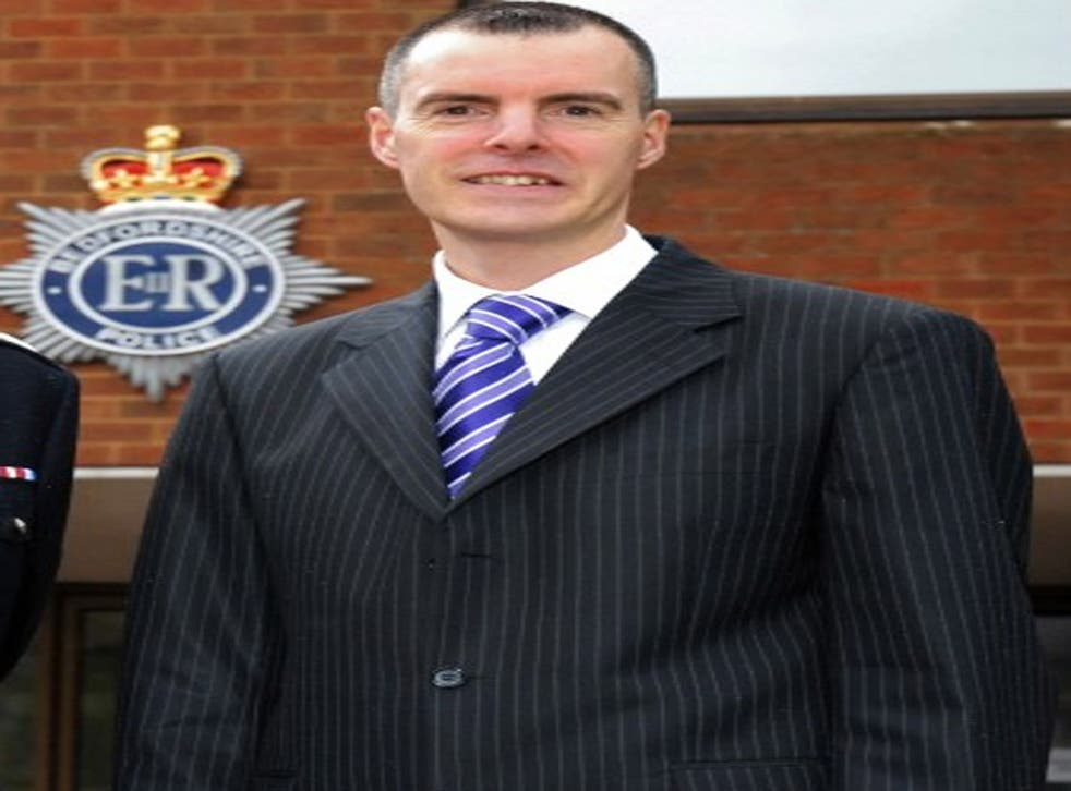 Bedfordshire police commissioner Olly Martins has close links with the Home Office