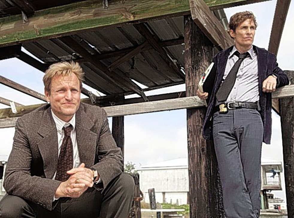 Southern discomfort: Woody Harrelson and Matthew McConaughey in 'True Detective'