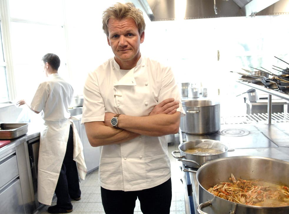 Crying shame: Gordon Ramsay shed tears after losing two stars last year
