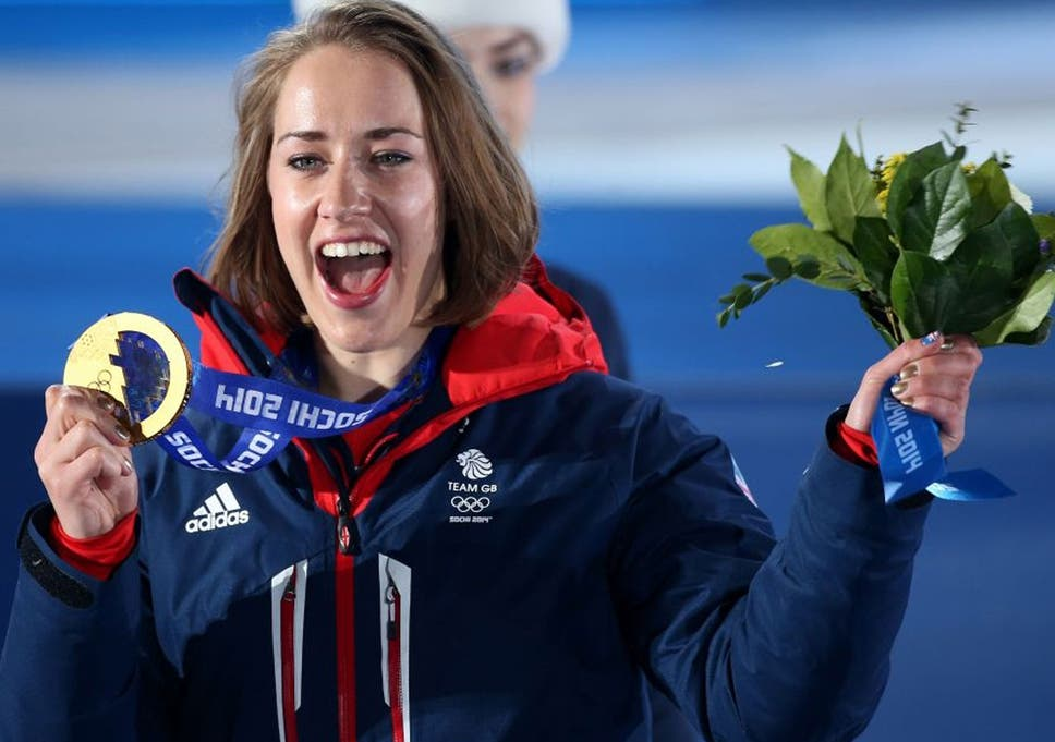 Winter Olympics 2014 Gold Medalist Lizzy Yarnold To Lead Great