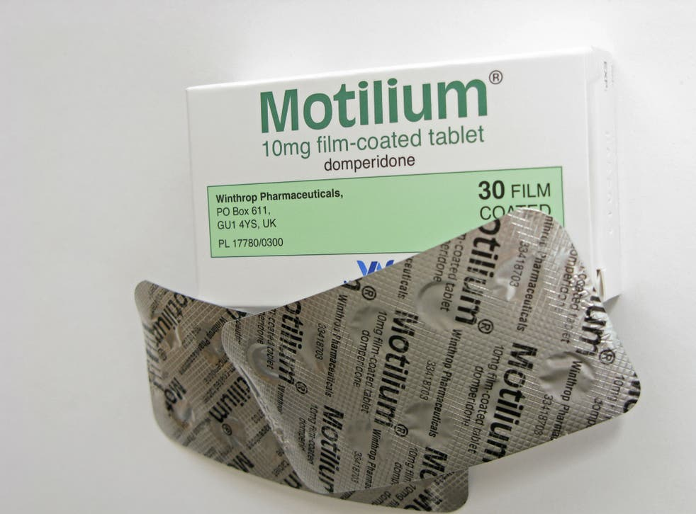 Motilium, which contains domperidone, can be found in British chemists