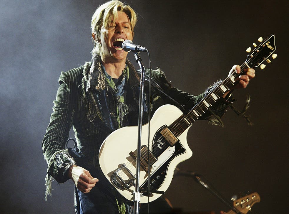 David Bowie won Best Male Solo Artist at the Brit Awards 2014