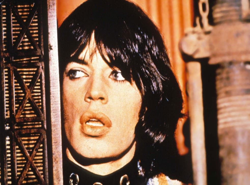 Mick Jagger, in 'Performance'