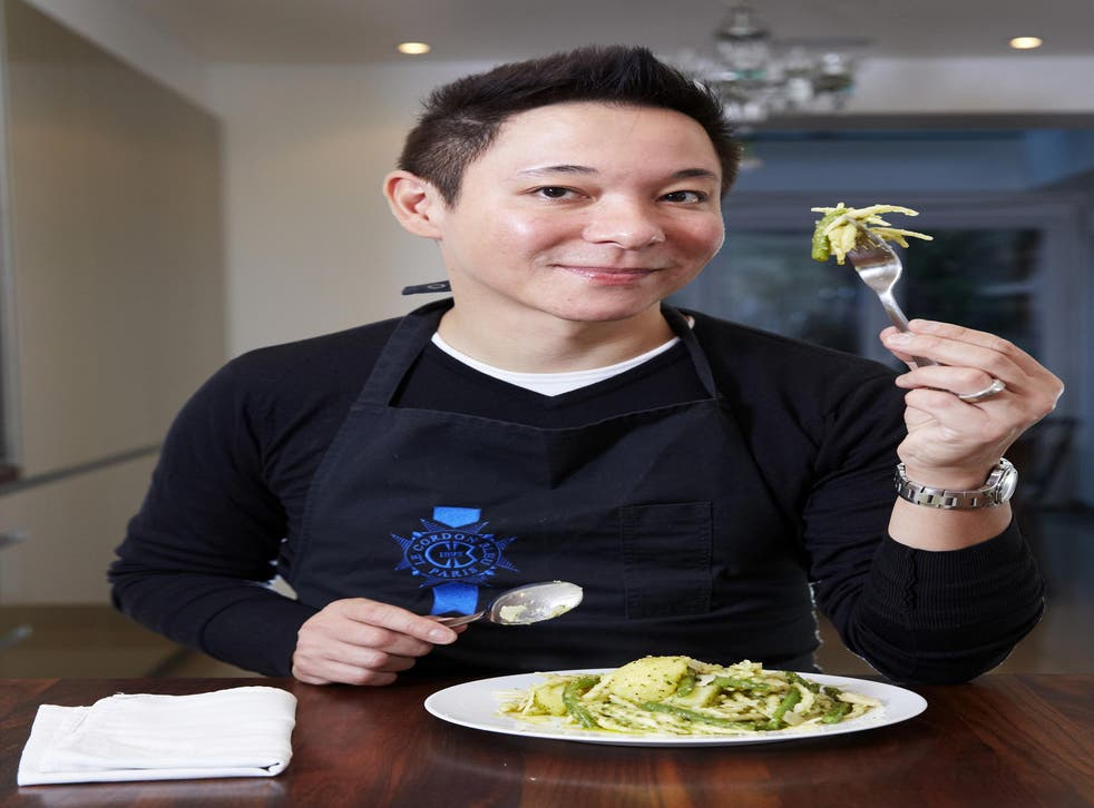 Luiz Hara, The London Foodie, would cook Ligurian trofie pasta with potatoes, green beans and his home-made pesto