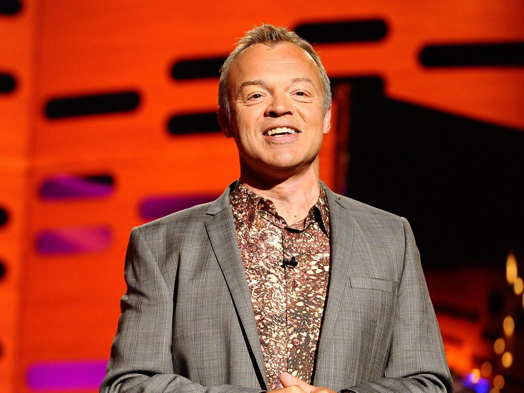 Cleaning ladies mrs overall on the graham norton show this week and - Bbc Cuts Talent Costs But Faces An Exodus Of Star Presenters Report Warns The Independent