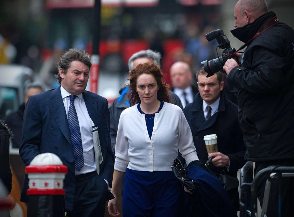 Rebekah Brooks arrives at the Old Bailey yesterday