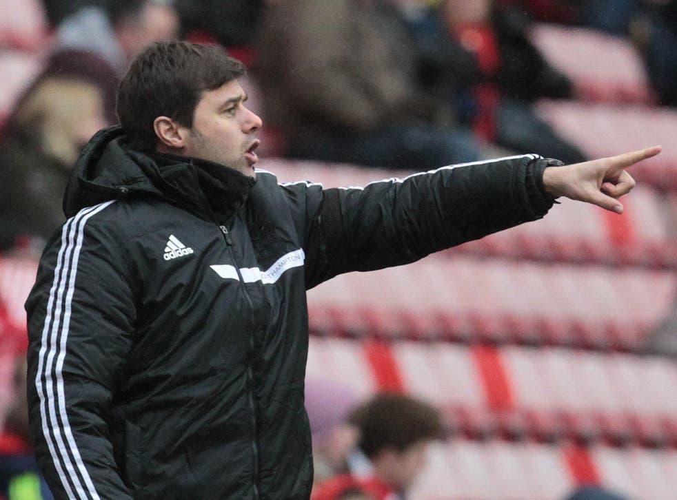 Southampton manager Mauricio Pochettino says he has put his row with Mark Clattenburg behind him