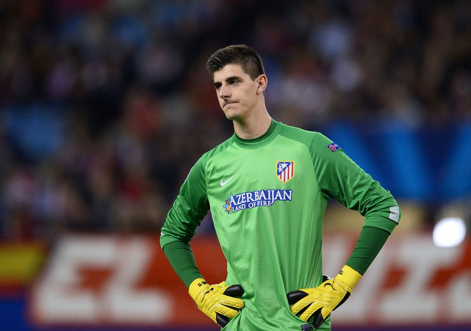 abb548970 Atletico Madrid v Chelsea  Thibaut Courtois concerned about  playing  poorly  in Champions League semi-final
