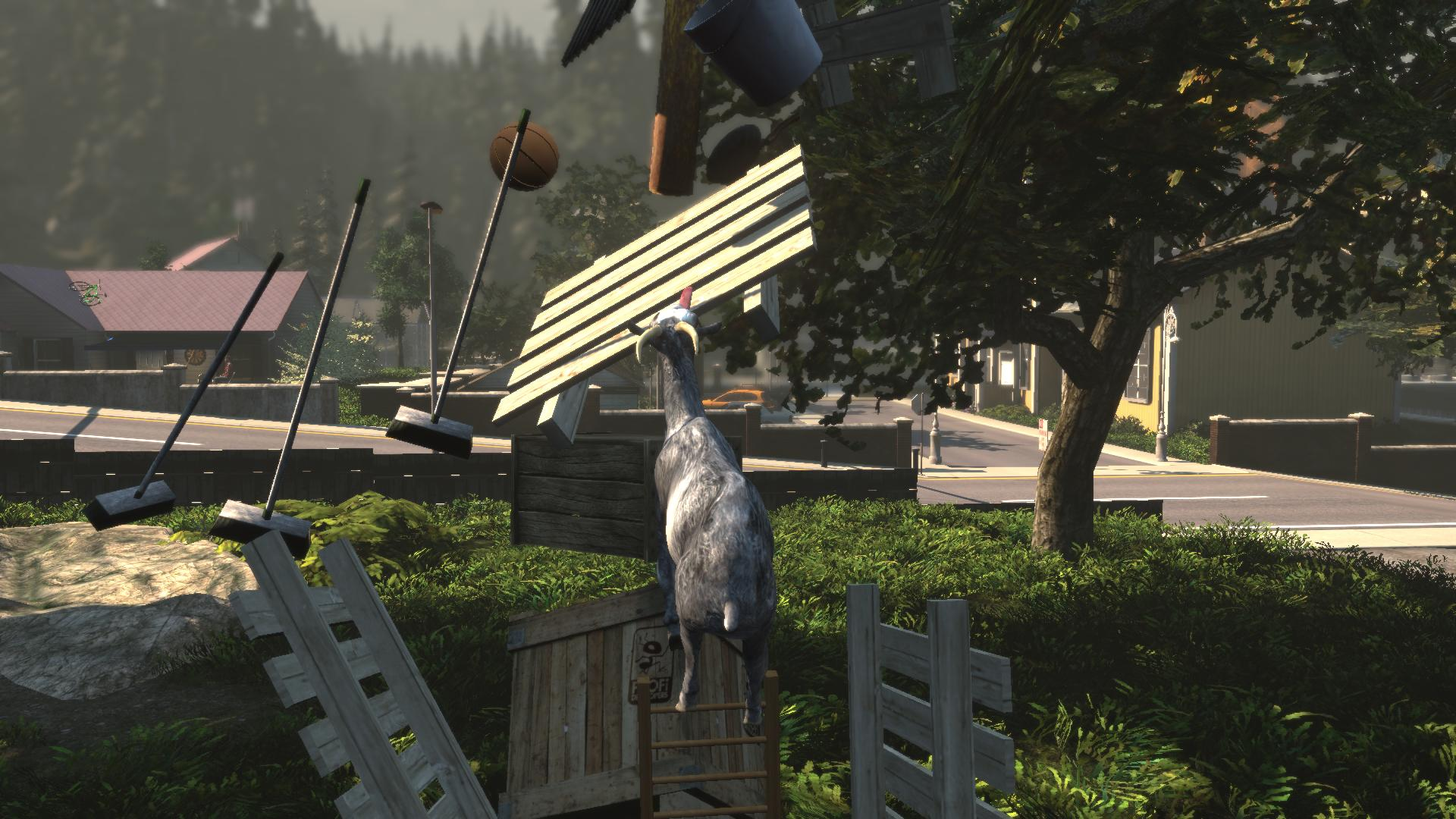 Goat Simulator 2014 is the best video game about being a